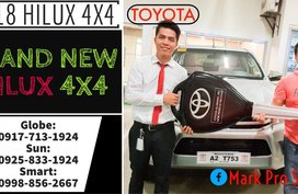 2019 Toyota Hilux G AT 4x4 Brand New Only Call: 09258331924 Now!