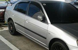 Honda Civic 2002 VTi AT Silver Sedan For Sale
