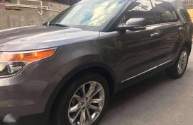 2012 Ford Explorer 4x4 3.5 V6 AT Gray SUV For Sale
