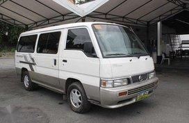 2013 Nissan Urvan Escapade 2.7L MT DSL for sale