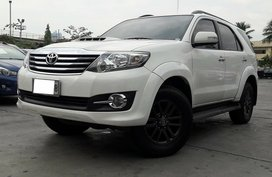 2015 Toyota Fortuner 4X2 G Diesel Automatic for sale