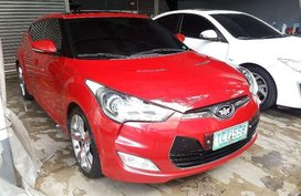 2012 Hyundai Veloster AT Red Coupe For Sale