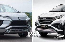 Mitsubishi Expander vs Toyota Rush: Your vote?