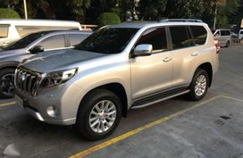 2015 Toyota Land Cruiser Prado VX 4x4 AT Silver For Sale