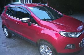 Ford Ecosport Trend 2014 MT Red For Sale