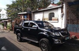 2012 Toyota Hilux G 4x4 Manual Black For Sale