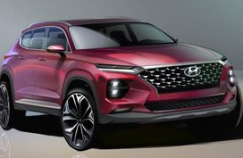 Sketches of the sharper looking Hyundai Santa Fe 2019 unveiled