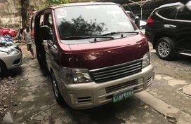 2013 Nissan Urvan ESTATE manual diesel for sale