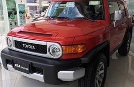 Toyota Fj Cruiser 2018 P1,958,000 for sale