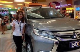 20147 Mitsubishi Montero Sport for sale