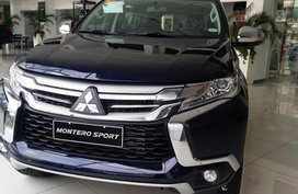 Brand-new Mitsubishi 2016 Montero Sport Gls 4x4 2.4 Diesel MT for sale