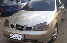For sale Chevrolet Optra 1.6 2004 gold