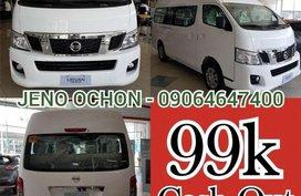 2018 Nissan Nv350 Urvan Premium Mt 99k Cash out only