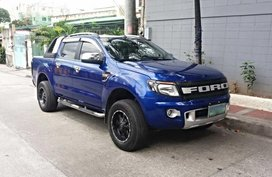 Well-maintained Ford Ranger XLT T6 MT 2013 for sale