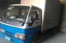 2014 Isuzu Elf close van 4HL1 egine package and Mitsubisbi Lancer 96 model