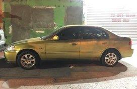 2000 Honda Civic VTI Sunburst Yellow RARE COLOR for sale
