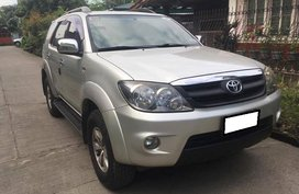 Well-kept Toyota Fortuner 2008 for sale