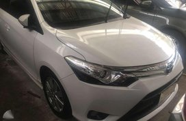 2016 Toyota Vios 1.5 G Pearl White Automatic Transmission for sale