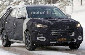 Hyundai Tucson 2019 facelift spotted testing again