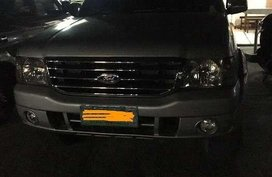2004 Ford Everest Manual for sale