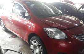2011 Toyota Vios 1.3 J Red Manual Transmission for sale