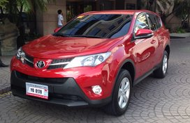 Toyota Rav 4 2014 with low mileage for sale
