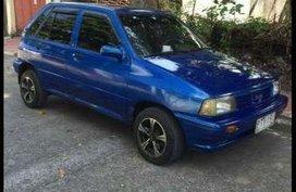 Kia Pride CD5 1991 Manual Blue For Sale