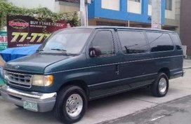 Ford E350 Van 1999 Manual Green For Sale
