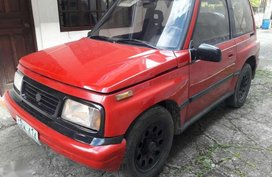 2003 Suzuki Escudo 4x4 Manual Red For Sale