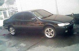 Toyota Camry 1996 Model AT Black Sedan For Sale