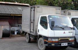 Canter Mitsubishi closed aluminum 1997 for sale