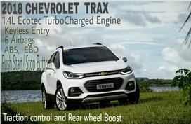 2018 Chevrolet Trax 1.4L Turbo Charge Engine