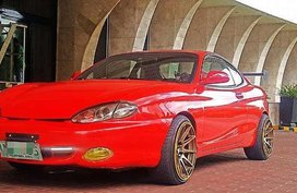 Hyundai Coupe Tiburon 1999 Red For Sale