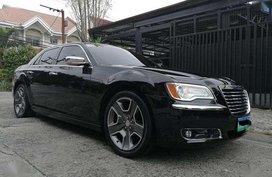 2012 Chrysler 300c AT Black Sedan For Sale