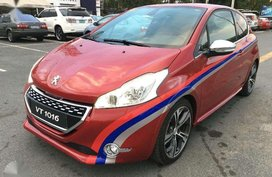 2015 Peugeot 208 GTI 1.6L Turbo MT Gas Red For Sale