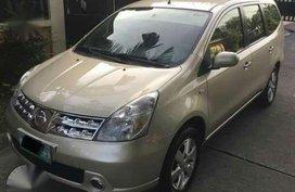 Fresh 2008 Nissan Grand Livina Beige For Sale