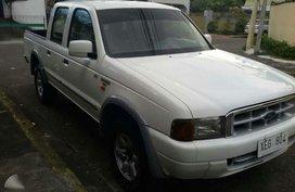 Ford Ranger XLT 2002 White Pickup For Sale