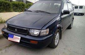 Mitsubishi Rvr Diesel 4x4 Blue Van For Sale