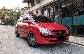 Hyundai Getz AT 2010 1.4L Red Hb For Sale