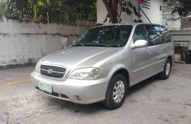 Kia Sedona 2005 Well Maintained Silver For Sale