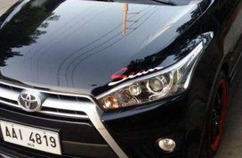 Toyota Yaris 2014 Black AT 1.5G For Sale