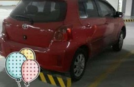 Toyota Yaris 2012 Top of the Line Red For Sale