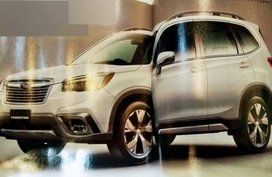 Leaked photos of Subaru Forester 2019