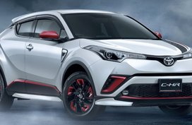 Thai-spec Toyota C-HR 2018 added with a wide array of accessories