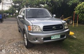 2001 Toyota Sequoia limited 4x2 FOR SALE