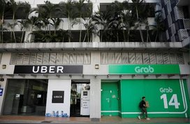 Uber taken over by Grab in Asia-Pacific