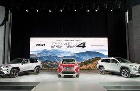 Next-gen Toyota RAV4 2019 shows New York a complete makeover