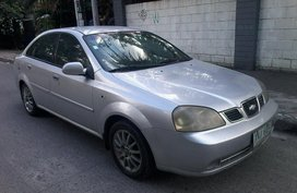 2005 Chevrolet OPTRA LS MANUAL p137T for sale