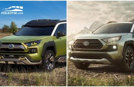 Toyota RAV4 2019 vs FT-AC concept: Spot the differences side-by-side