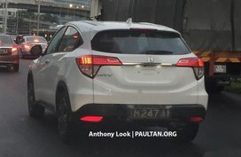 Honda HR-V 2018 facelift spied in Malaysia with a unique look